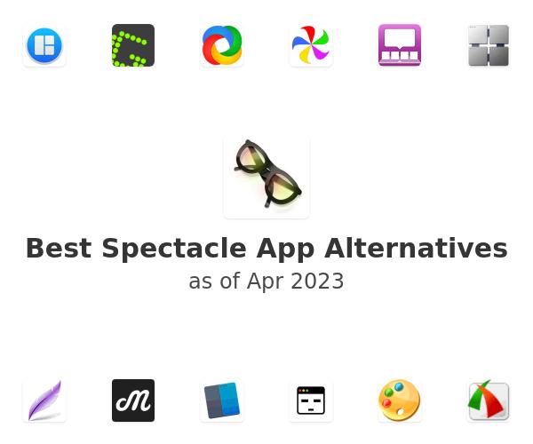 Best Spectacle App Alternatives