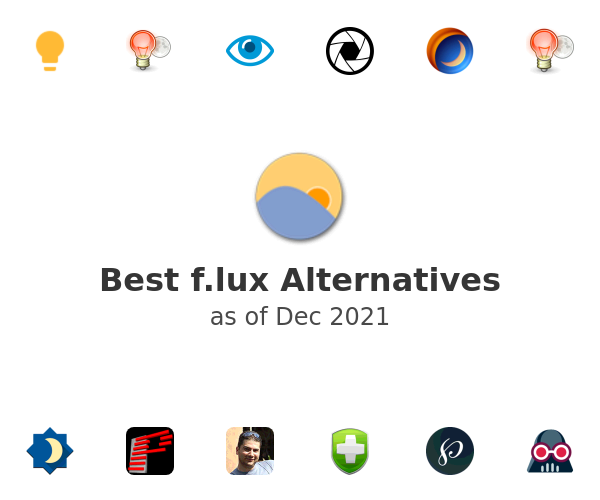 Best f.lux Alternatives