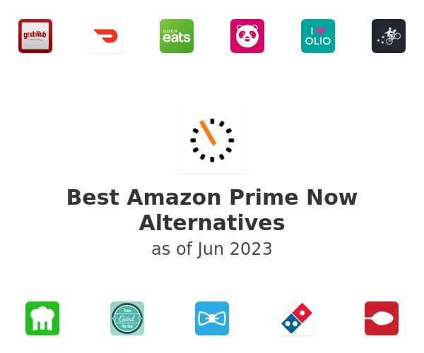 Best Amazon Prime Now Alternatives