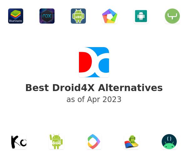 Best Droid4X Alternatives