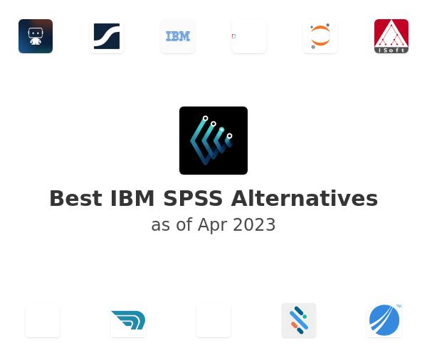 Best IBM SPSS Alternatives