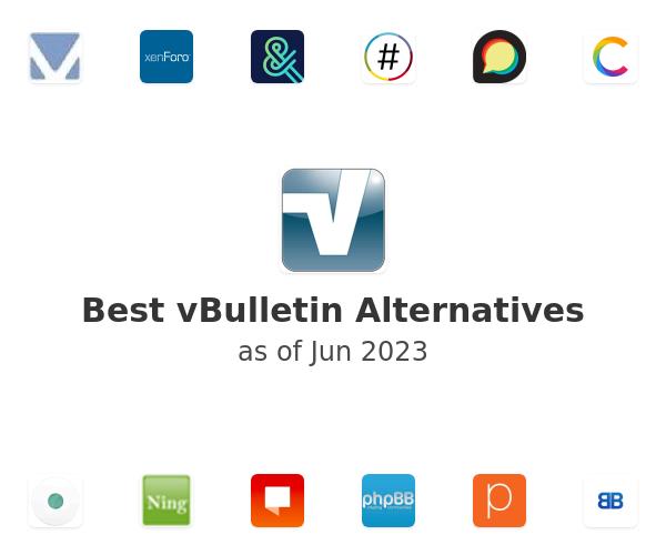 Best vBulletin Alternatives