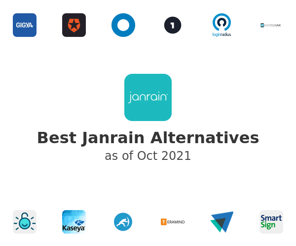 Best Janrain Alternatives