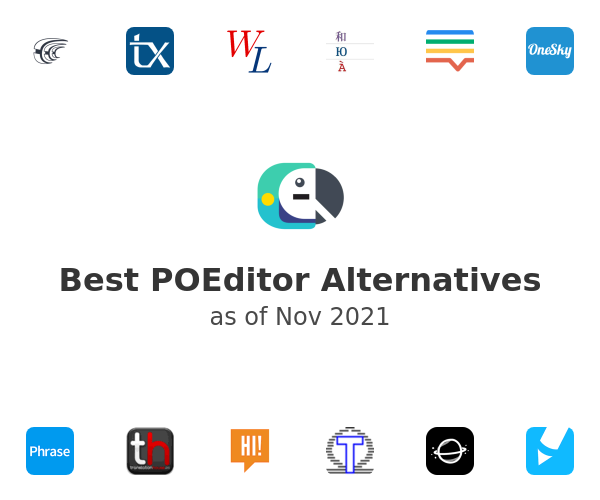 Best POEditor Alternatives