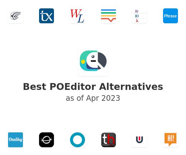Best POEditor Alternatives