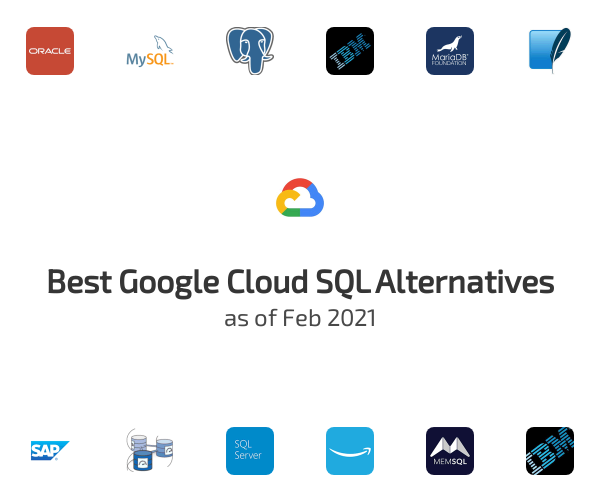 Best Google Cloud SQL Alternatives