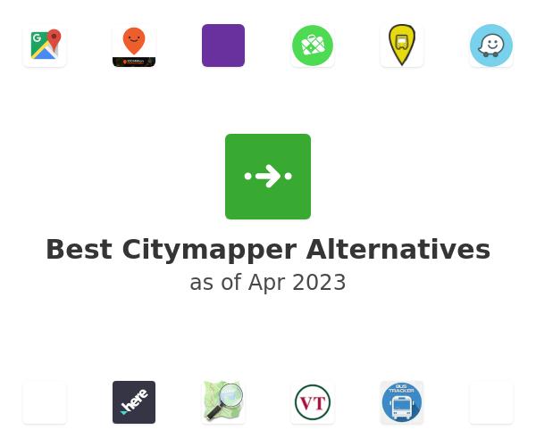 Best Citymapper Alternatives