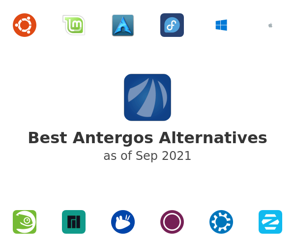Best Antergos Alternatives