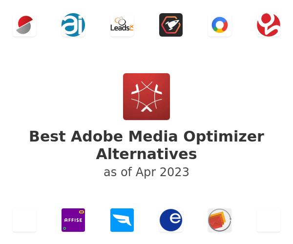Best Adobe Media Optimizer Alternatives