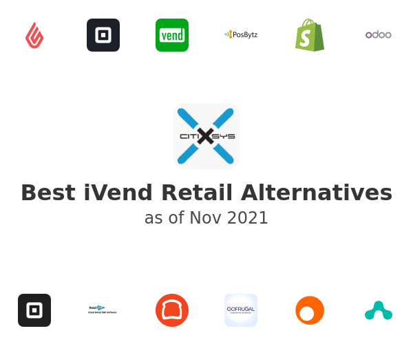 Best iVend Retail Alternatives