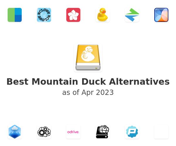 Best Mountain Duck Alternatives