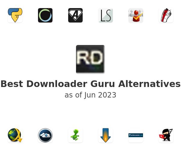 Best Downloader Guru Alternatives