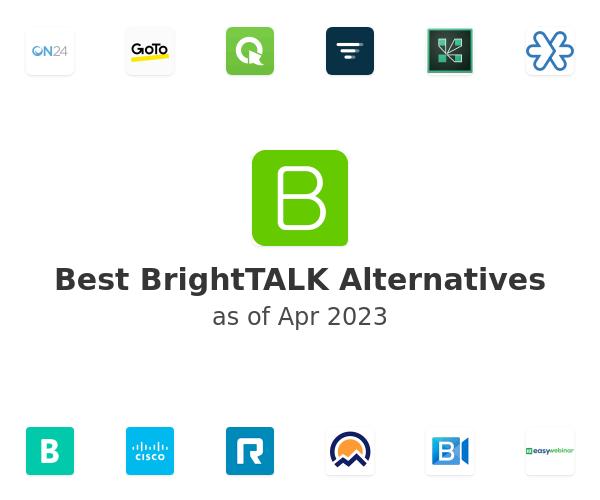 Best BrightTALK Alternatives