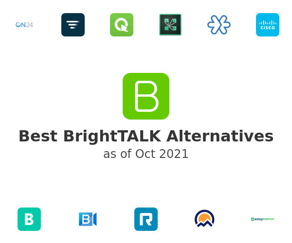 Best BrightTALK Alternatives
