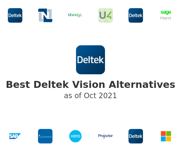 Best Deltek Vision Alternatives