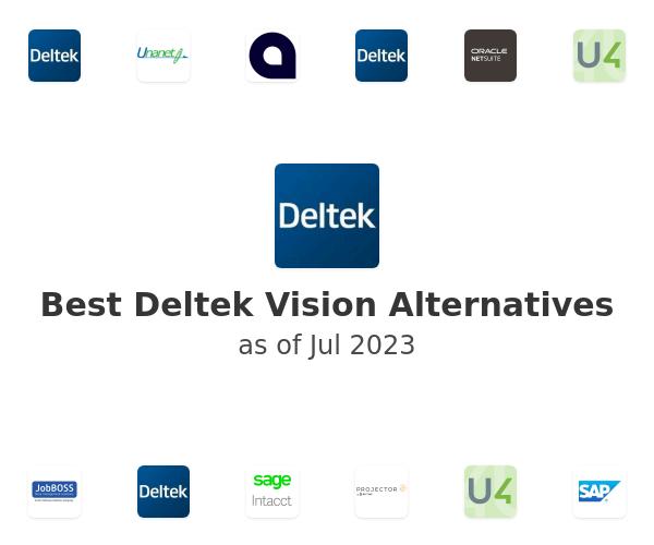 Best Deltek Vision Alternatives