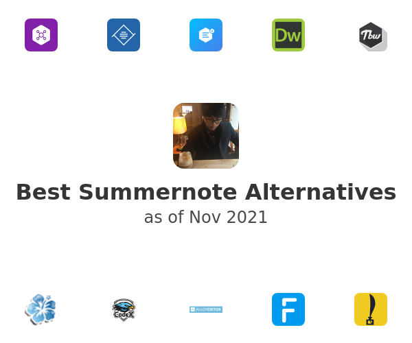 Best Summernote Alternatives