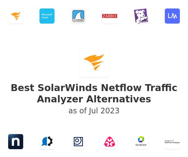 Best SolarWinds Netflow Traffic Analyzer Alternatives