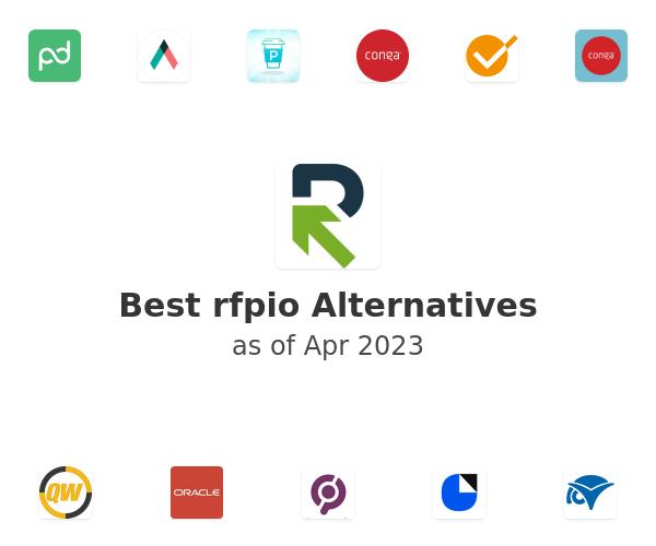 Best rfpio Alternatives