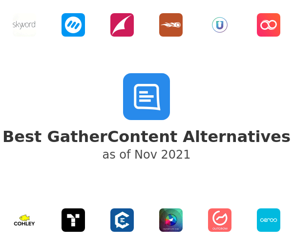 Best GatherContent Alternatives