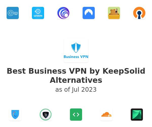 Best Business VPN by KeepSolid Alternatives