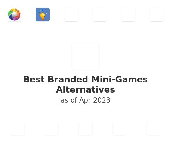 Best Branded Mini-Games Alternatives