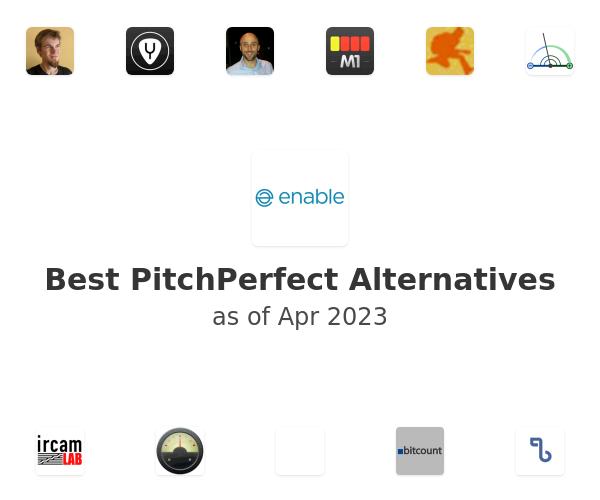 Best PitchPerfect Alternatives