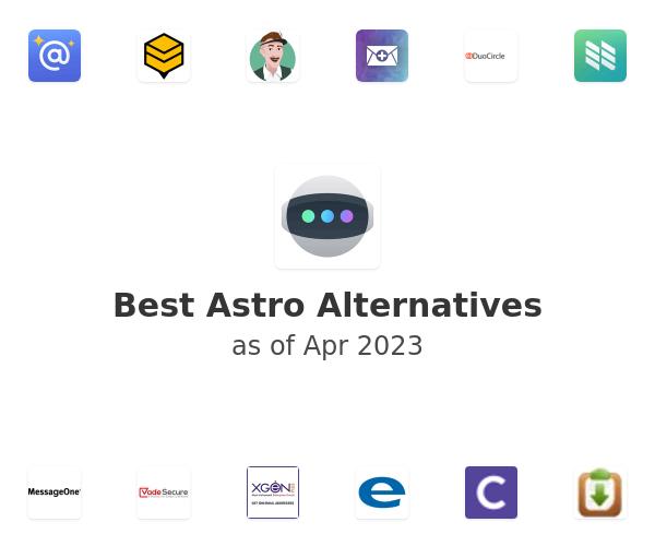 Best Astro Alternatives