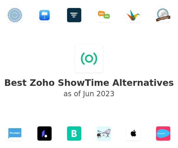Best Zoho ShowTime Alternatives
