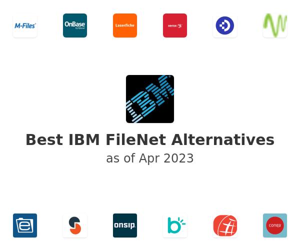 Best IBM FileNet Alternatives