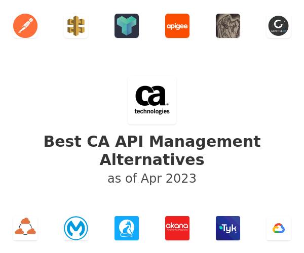 Best CA API Management Alternatives