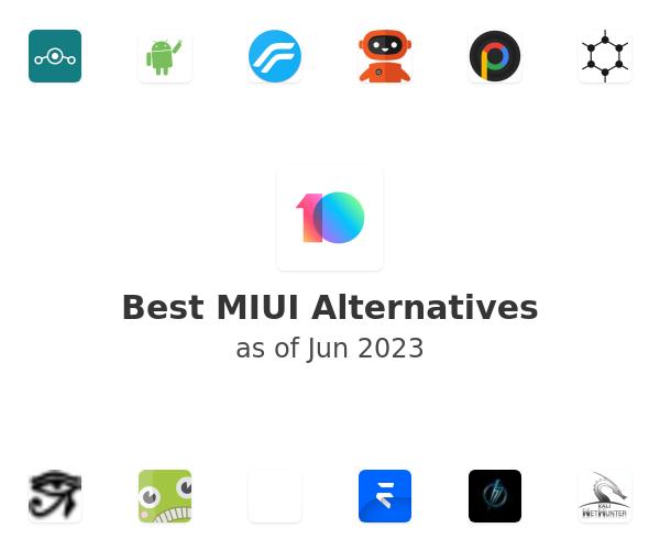 Best MIUI Alternatives