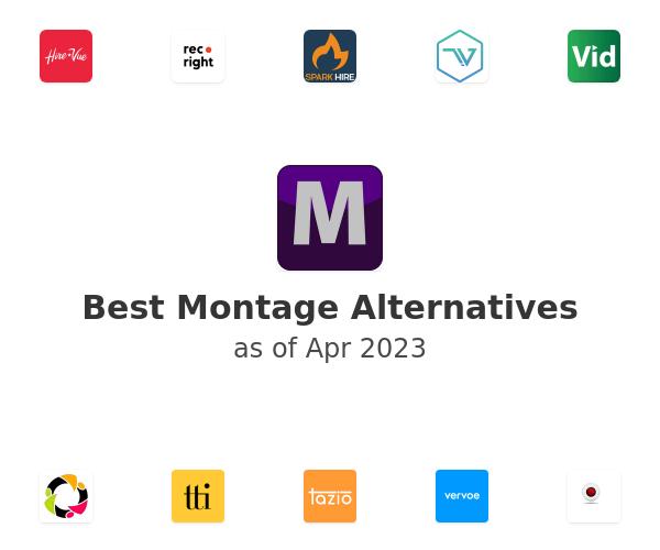 Best Montage Alternatives