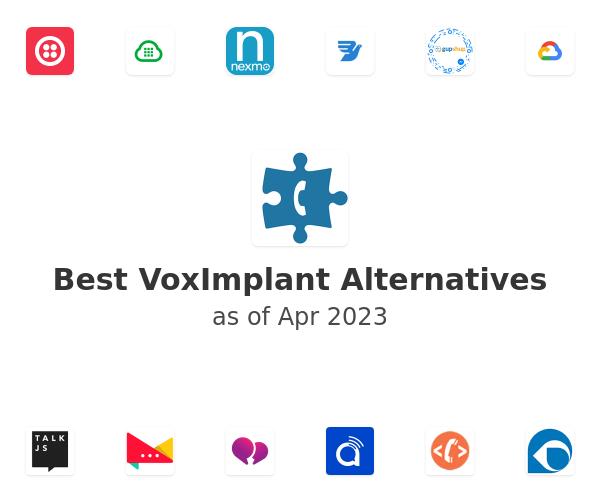Best VoxImplant Alternatives