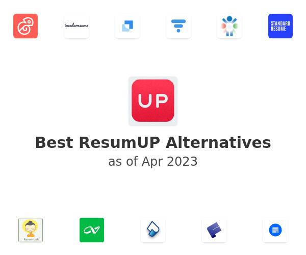 Best ResumUP Alternatives