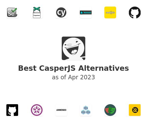 Best CasperJS Alternatives