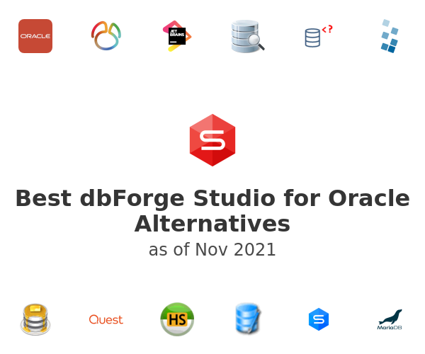 Best dbForge Studio for Oracle Alternatives