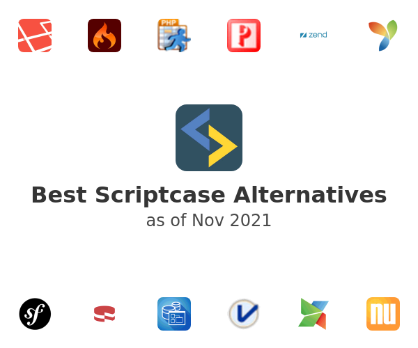 Best Scriptcase Alternatives