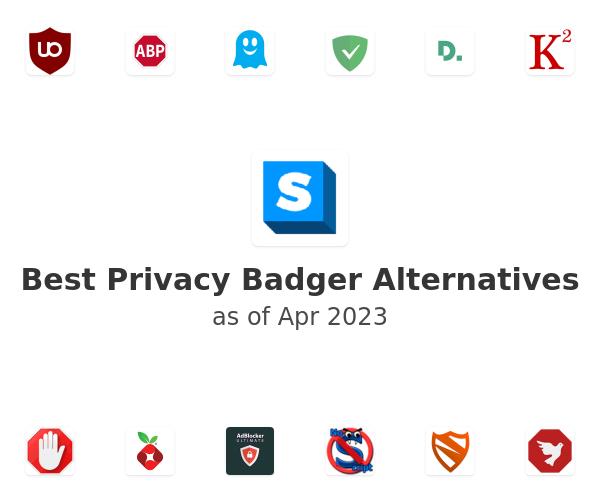 Best Privacy Badger Alternatives