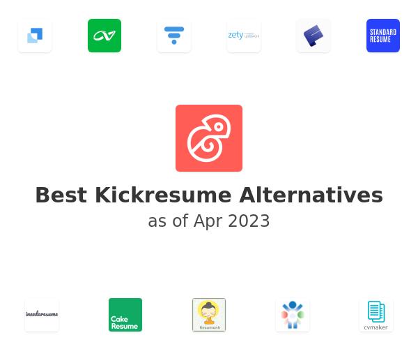 Best Kickresume Alternatives