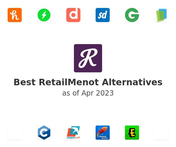 Best RetailMenot Alternatives