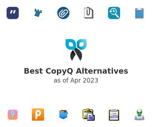 Best CopyQ Alternatives