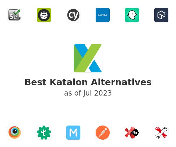 Best Katalon Studio Alternatives