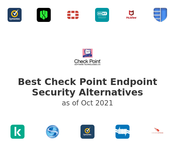 Best Check Point Endpoint Security Alternatives