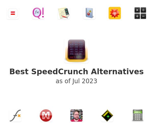 Best SpeedCrunch Alternatives
