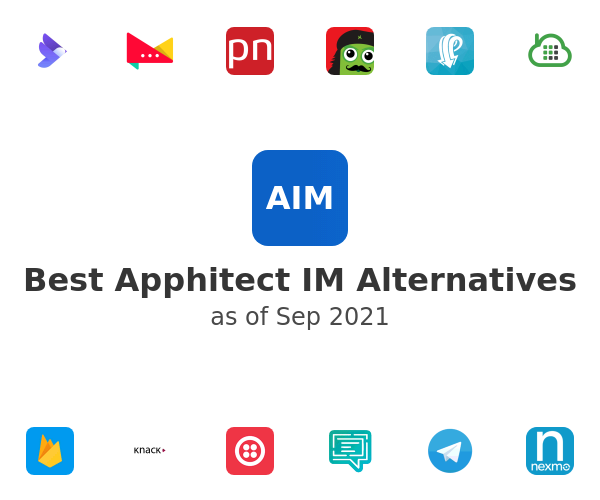 Best Apphitect IM Alternatives