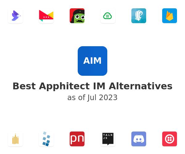 Best Apphitect IM Alternatives