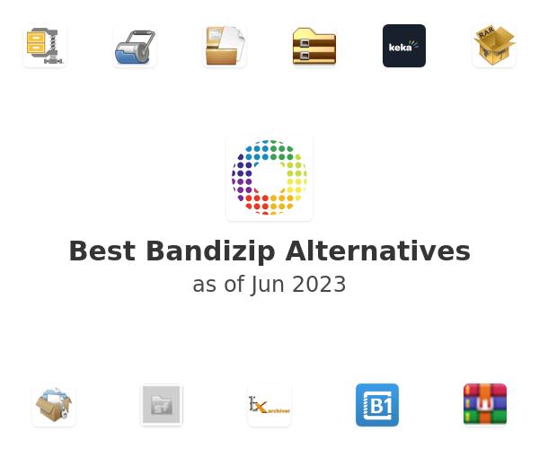 Best Bandizip Alternatives