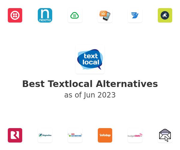 Best Textlocal Alternatives