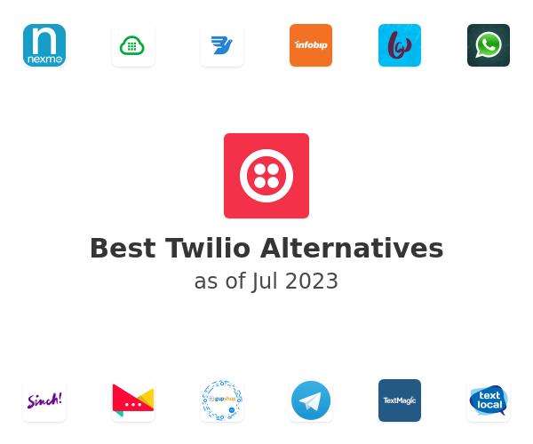 Best Twilio Alternatives